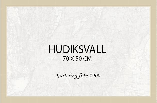 Hudiksvall  - affisch