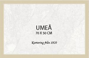 Umeå - affisch