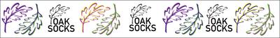 Oak Socks Headband 7 cm