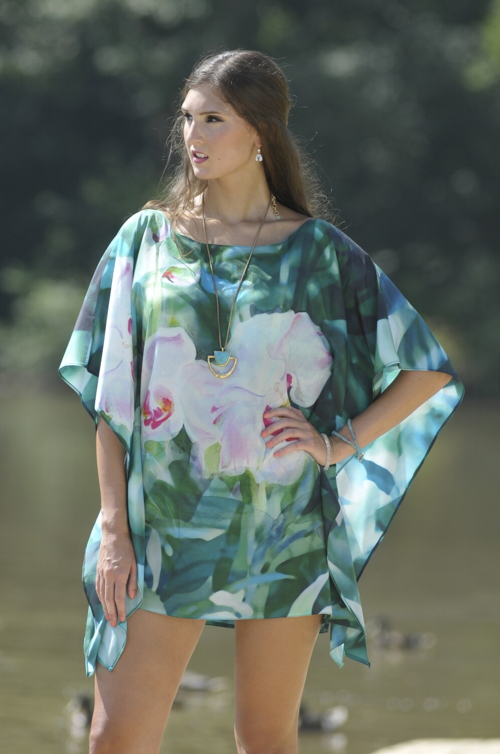White Orchid  Tunic 2