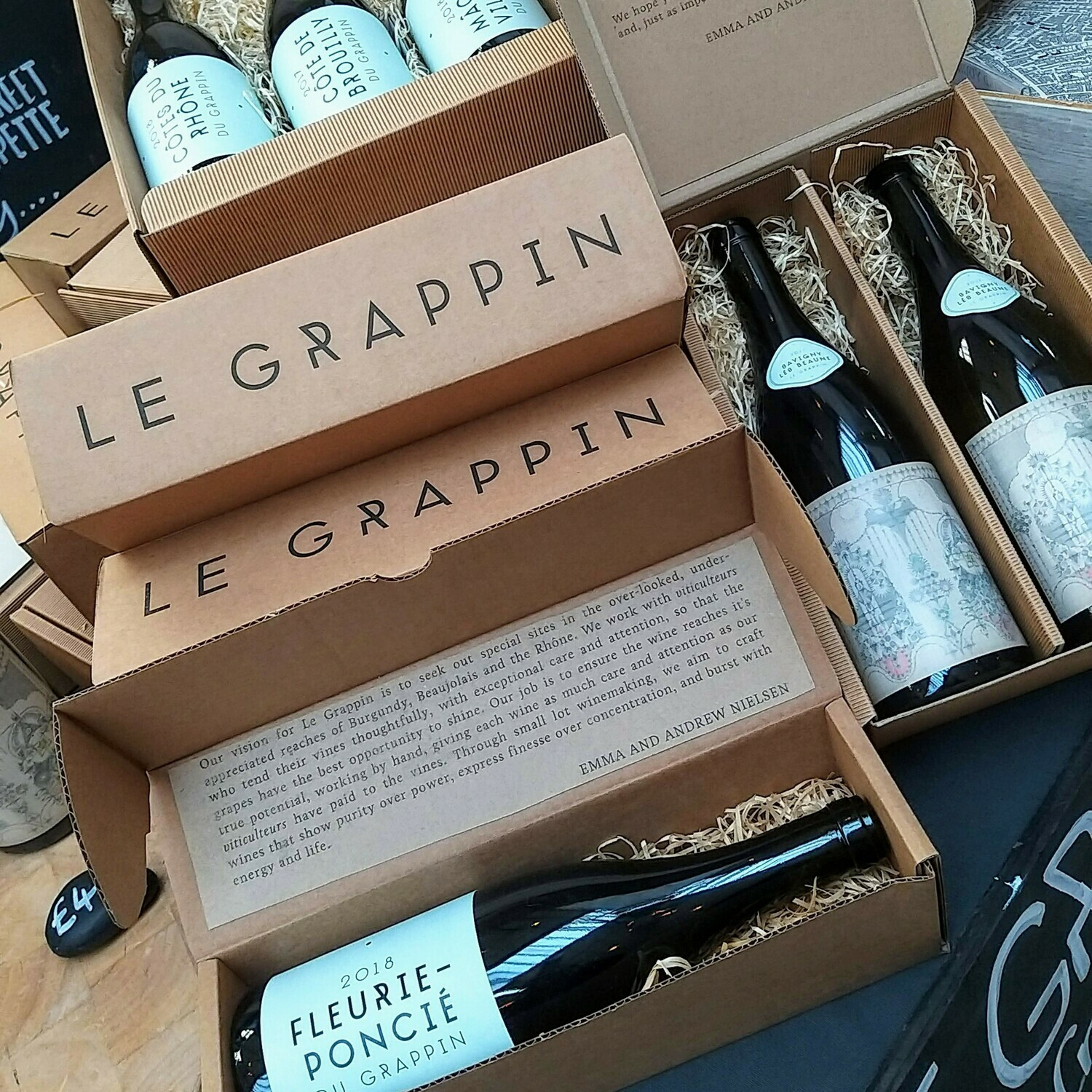Gift Box for three bottles of wine