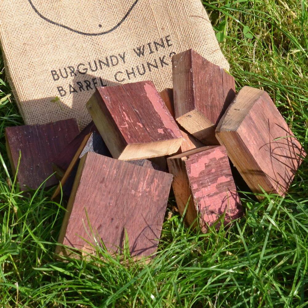 Burgundy Barrel Chunks