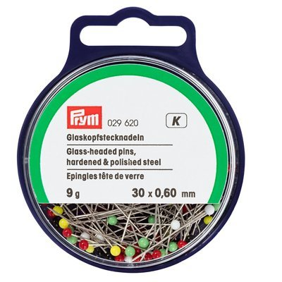 Glass-headed pins 30*0.6 9gr
