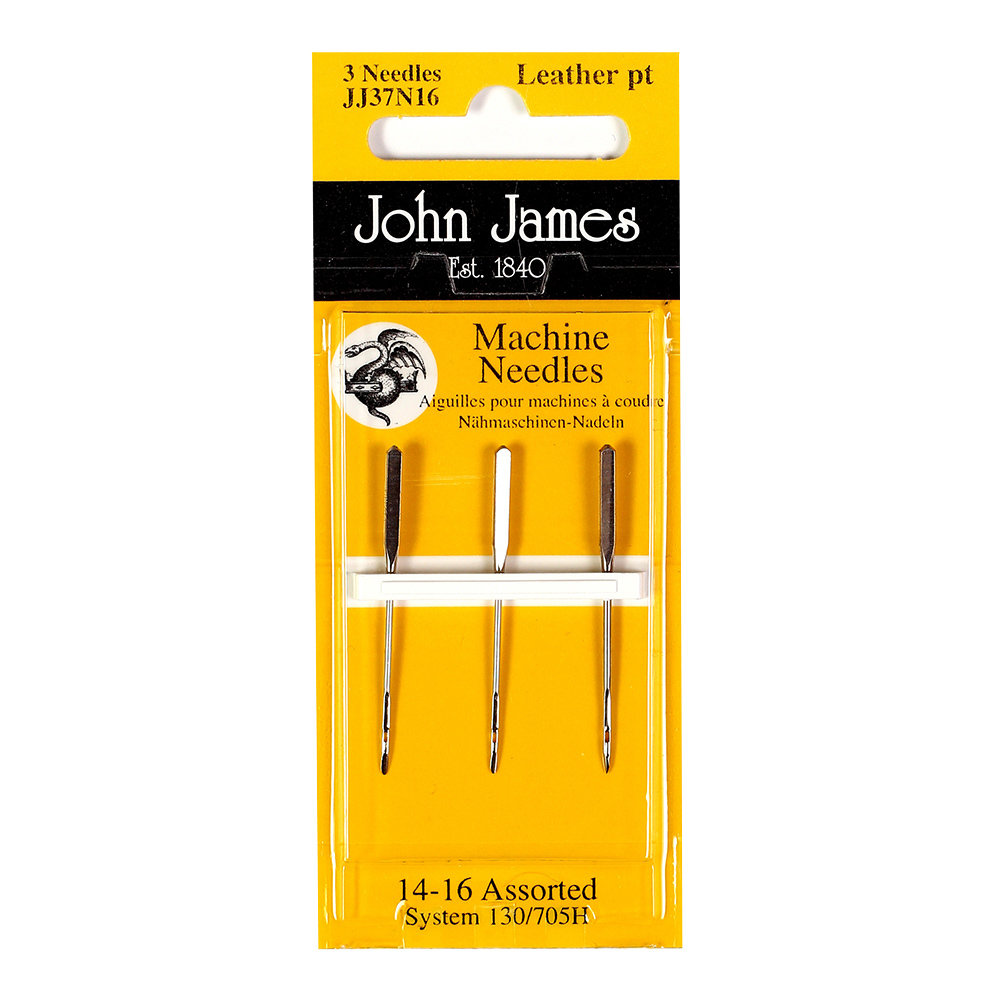 Machine Needles Leather pt 14-16 Assorted