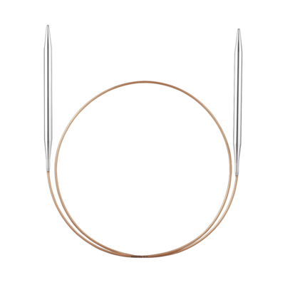 Circular Knitting Needles, white bronze