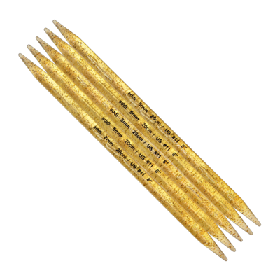 Champagne Double-pointed Needles