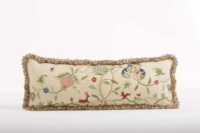 Jacobean Long Pillowe