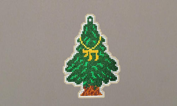 Tree Car Charms - Fir tree