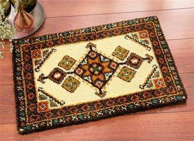 Latch-hook Rug Kit Inca geometry
