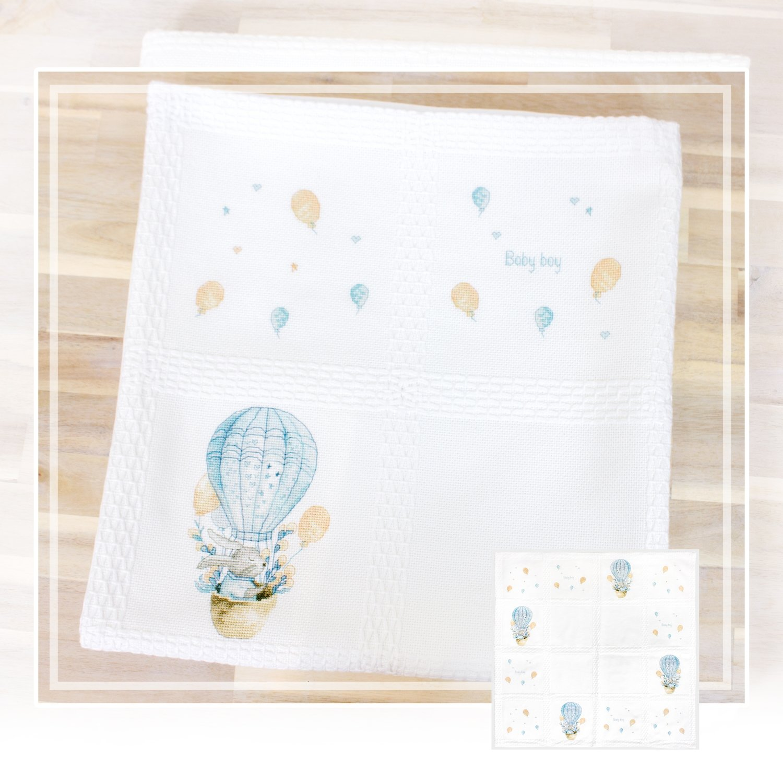 Rabbit in a Flying Balloon