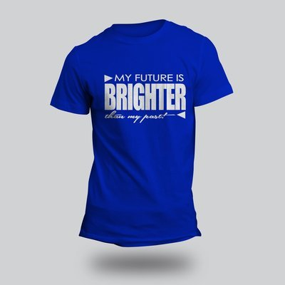 Bright Side T-shirts White Letters