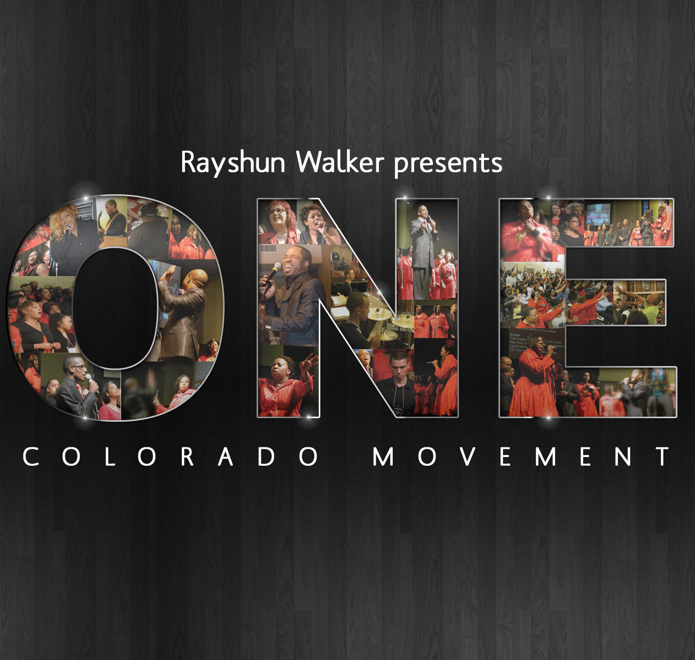 """Rayshun Walker presents """"ONE"""" with Colorado Movement Choir"""