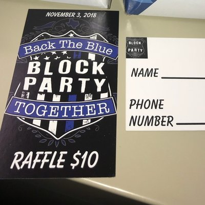 Back the Blue Raffle Tickets