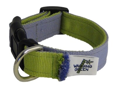 Eco Friendly Bamboo Eco Hip Series Dog Collar - Mardi Gras
