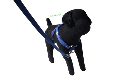 Eco-Friendly Bamboo 'Dual Clip' Step-In Dog Harness - Twilight