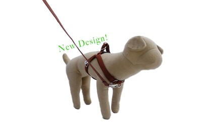 Eco-Friendly Bamboo 'Dual Clip' Step-In Dog Harness - Tree Bark