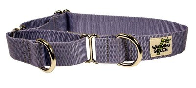 Eco Friendly Bamboo Single Layer Martingale Dog Collar - Spring Lilac