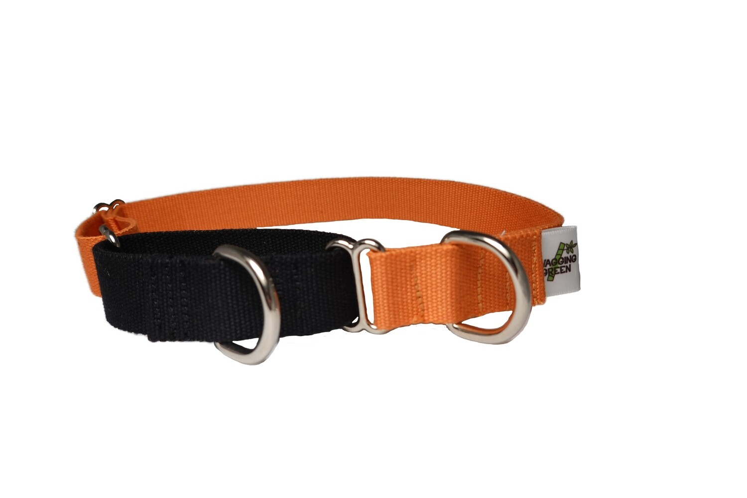 Eco Friendly Bamboo Single Layer Martingale Dog Collar - Spooky
