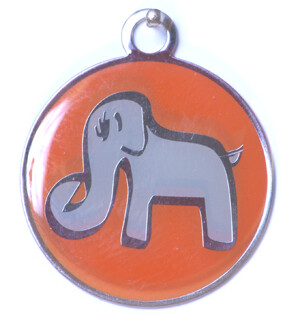 Blank ID Tags for Dog Collars - Save the Pack
