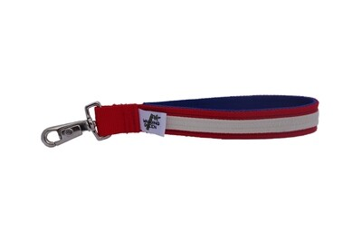 Eco Friendly Bamboo Wristlet - Red, White, & Blue