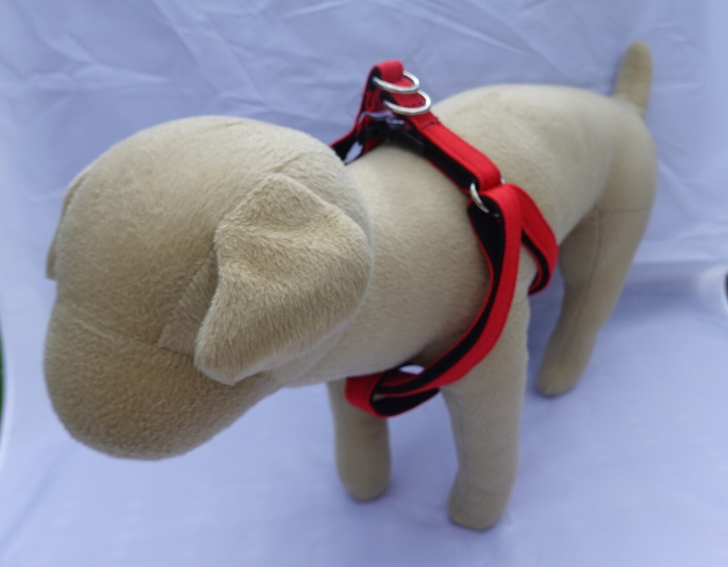 Eco Friendly Bamboo Eco Hip Step-In Dog Harness - Valentine's (Clearance Style)