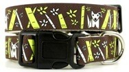 Eco Friendly Bamboo Saving The Earth Series Dog Collars - Bamboo Pooch