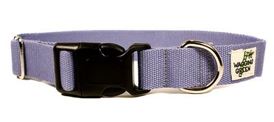 Eco Friendly Bamboo Single Layer Dog Collar - Spring Lilac (1