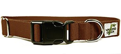 Eco Friendly Bamboo Double Layer Dog Collar - Tree Bark (1