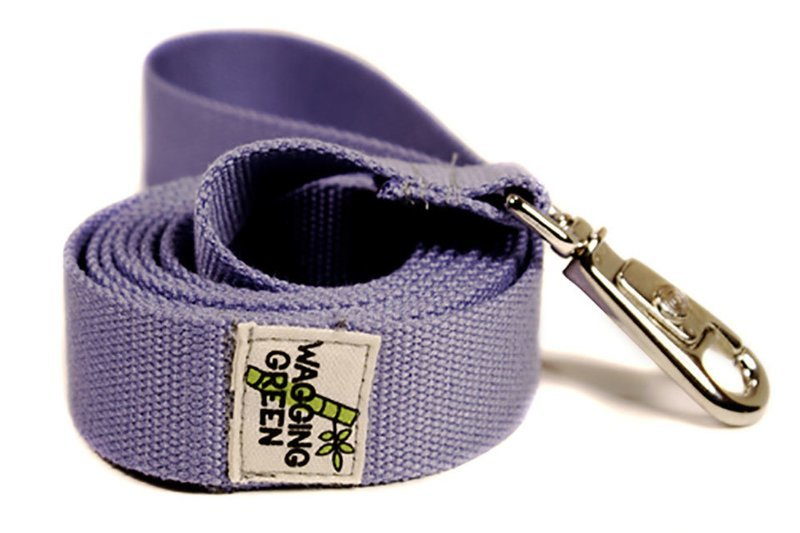 Eco Friendly Bamboo Double Layer Dog Leash - Spring Lilac