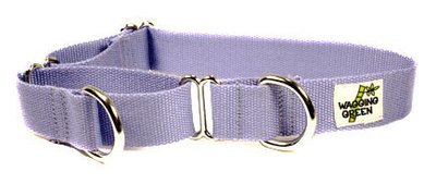 Eco Friendly Bamboo Double Layer Martingale Dog Collar - Spring Lilac