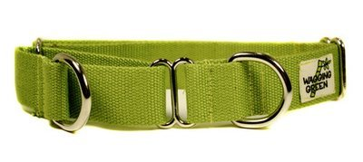 Eco Friendly Bamboo Double Layer Martingale Dog Collar - Bamboo Zen