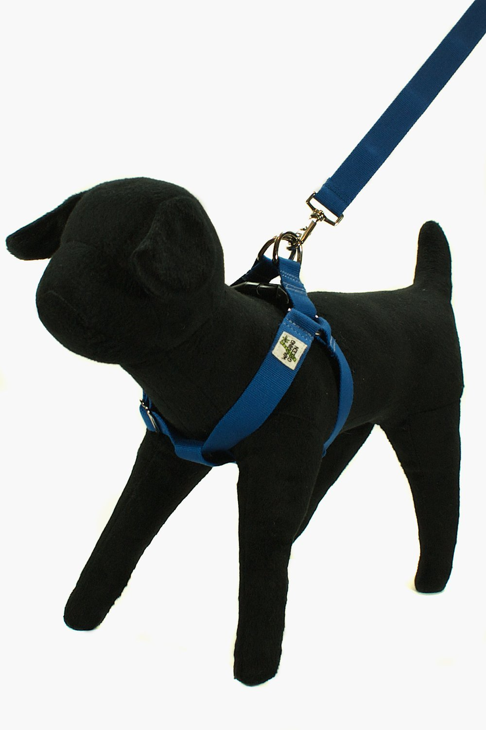 Eco Friendly Bamboo Single Layer Step-In Dog Harness - Twilight