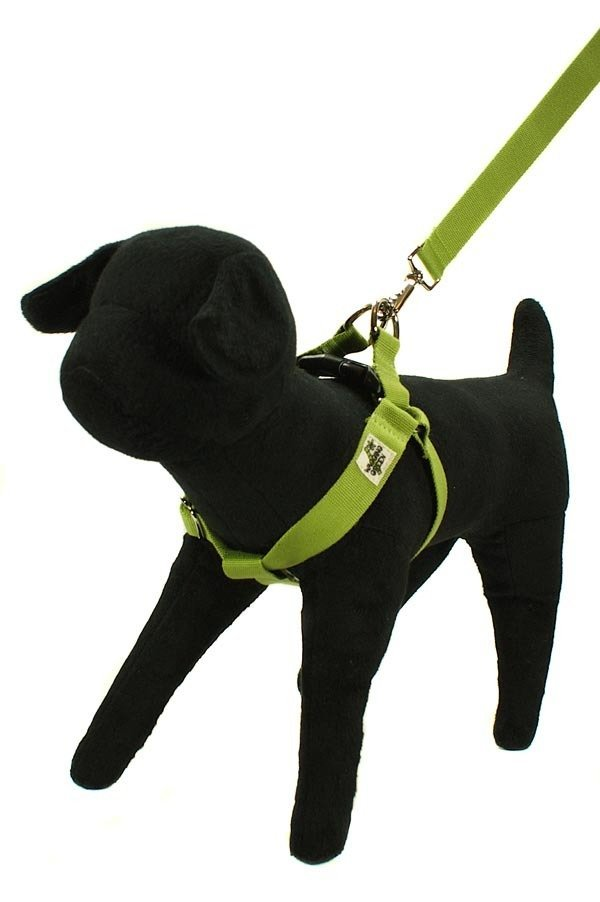 Eco Friendly Bamboo Single Layer Step-In Dog Harness - Bamboo Zen