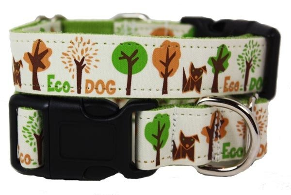 Eco Friendly Bamboo Saving The Earth Series Dog Collars - Eco Dog