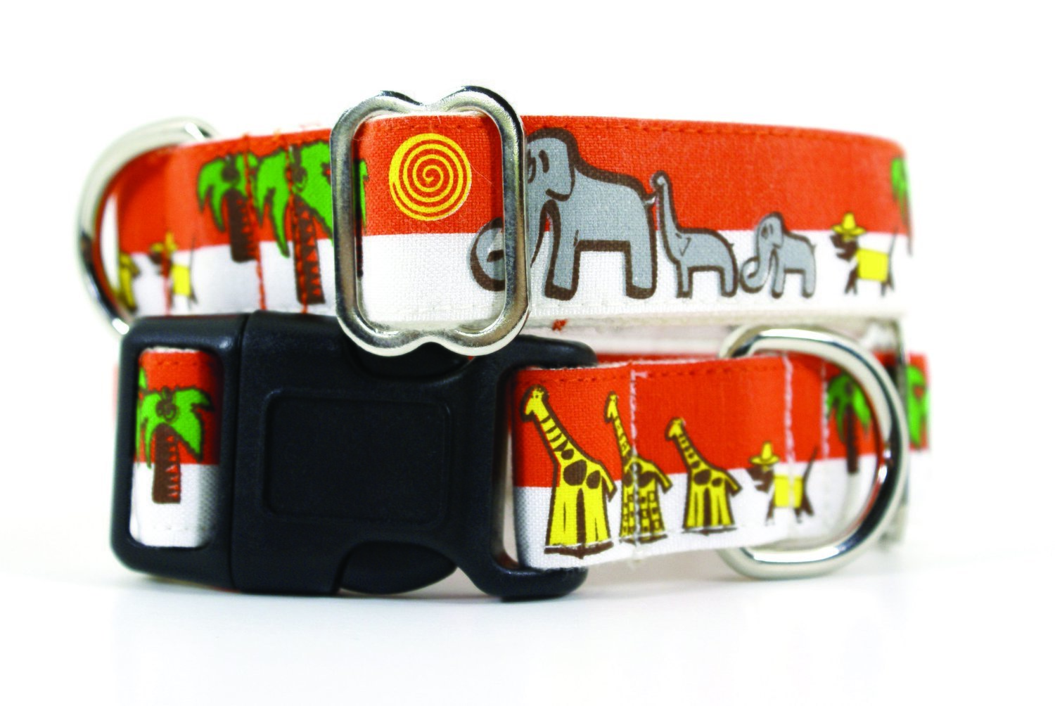 Eco Friendly Bamboo Saving The Earth Series Dog Collars - Save the Pack
