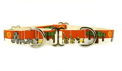 Eco Friendly Bamboo Saving The Earth Series Martingale Collar - Save the Pack