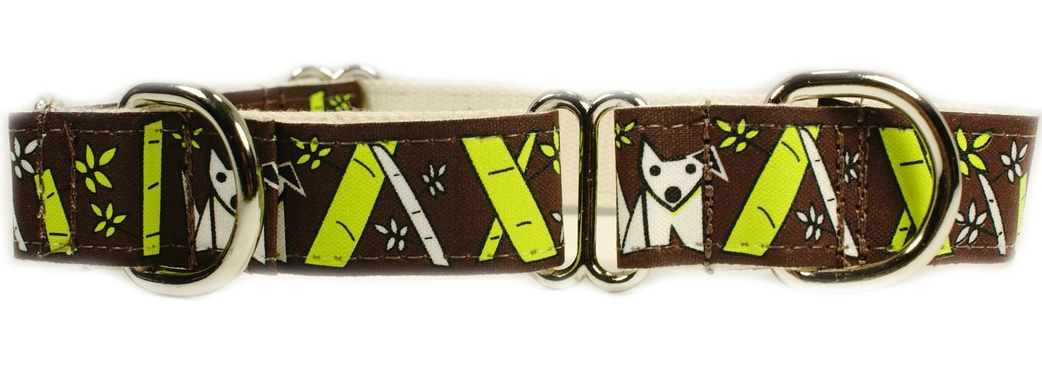 Eco Friendly Bamboo Saving The Earth Series Martingale Collar - Bamboo Pooch