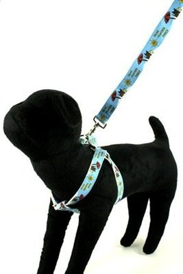 Eco Friendly Bamboo Saving The Earth Series Dog Harness - Solar Powered Pooch (1