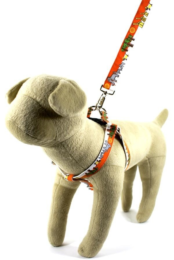 Eco Friendly Bamboo Saving The Earth Series Dog Harness - Save the Pack