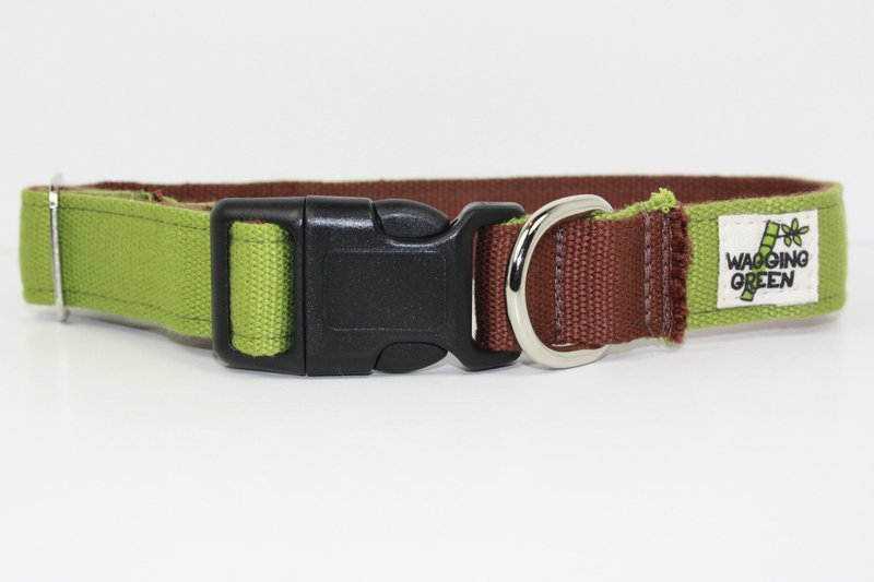 Eco Friendly Bamboo Eco Hip Series Dog Collar - Woodsy (1