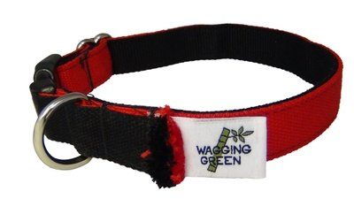 Eco Friendly Bamboo Eco Hip Series Dog Collar - Valentine's