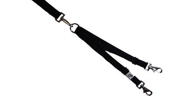 Eco Friendly Bamboo Tandem Leash Accessory - Midnight