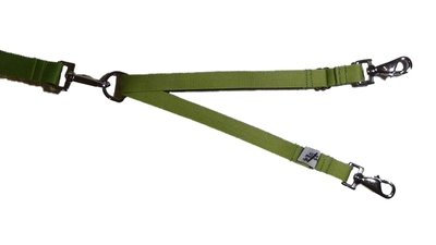 Eco Friendly Bamboo Tandem Leash Accessory - Bamboo Zen