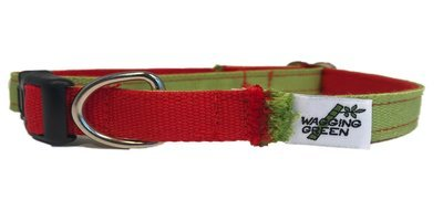 Eco Friendly Bamboo Eco Hip Series Dog Collar - Yuletide