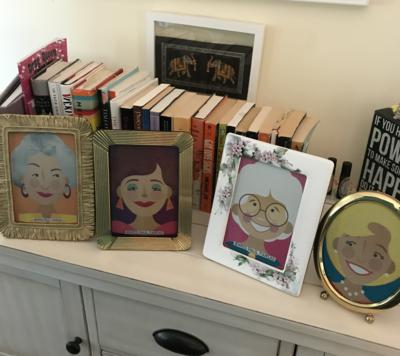 Framed Golden Girls Inspired Prints