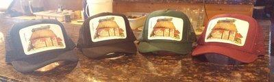 Nora's Fish Creek Inn Artistic Trucker Hat