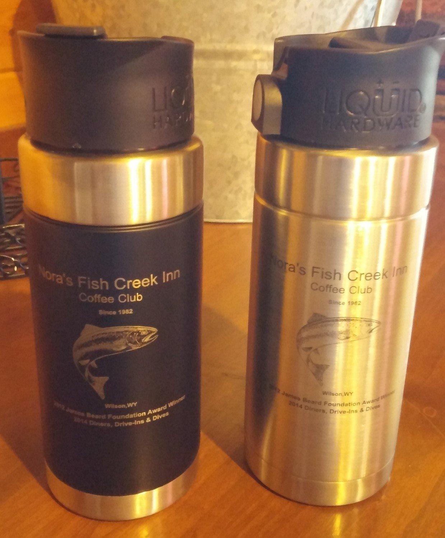 Nora's Fish Creek Inn Coffee Club Travel Mug