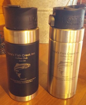Nora's Fish Creek Inn Coffee Club Travel Mug