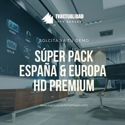 Pack España Europe Premium Full HD