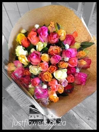 Mix 50 Roses Bouquet